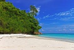 plaży w kąpieliskach resztę dnia słońce Thailand Obraz Royalty Free