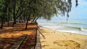 plaży w kąpieliskach resztę dnia słońce Thailand Zdjęcie Royalty Free