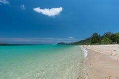 plaży w kąpieliskach resztę dnia słońce Thailand obraz stock