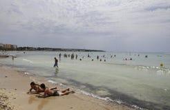 Plaża 014 Zdjęcia Stock