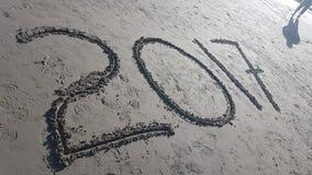 Plaża 2017 Obrazy Royalty Free