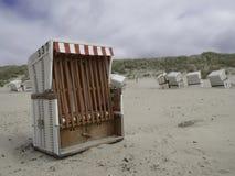Plaża Baltrum obraz stock
