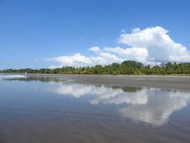 Plaża blisko Jaco Costa Rica Obraz Royalty Free