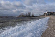 Plaża blisko Urk Zdjęcia Stock