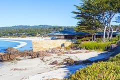 Plaża Carmel, CA Zdjęcia Royalty Free