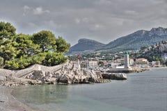 Plaża Cassis, Francja Obraz Stock