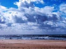 Plaża Chipiona w Cadiz Obrazy Stock