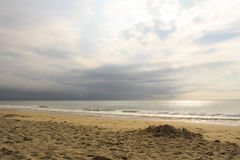 plaża chmury Obraz Stock
