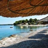 Plaża Croatia fotografia royalty free