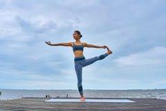 Pla de la yoga Imagen de archivo