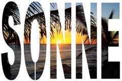Plaże od kanarków Zdjęcia Stock