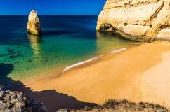 plaże w Algarve Zdjęcia Royalty Free