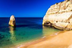 plaże w Algarve Fotografia Stock