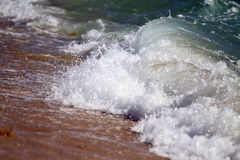 Plaż fala Obraz Royalty Free