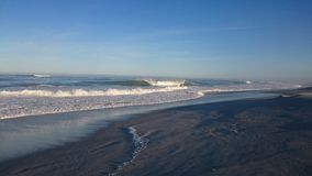 Plaż fala surfingowów sen Fotografia Royalty Free