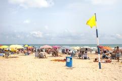 Plaża Gandia, Hiszpania Zdjęcie Stock
