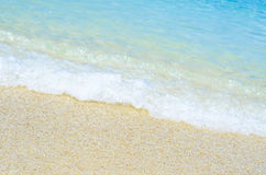 Plaża i morze Obrazy Royalty Free