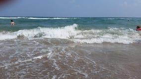 Plaża i morze w AHtopol Zdjęcie Stock