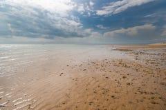 Plaża i Niebo Zdjęcia Royalty Free
