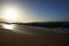 Plaża i ocean Zdjęcie Royalty Free