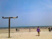 Plaża i poczta Obraz Stock
