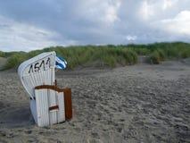 Plaża Juist zdjęcia stock