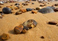 plaża kamienie Fotografia Stock