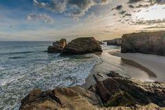 Plaża katedry Zdjęcia Royalty Free