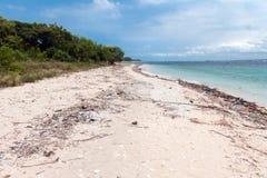 Plaża Krajowy zachodu park w Bali Fotografia Stock