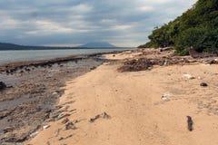 Plaża Krajowy zachodu park w Bali Obrazy Royalty Free
