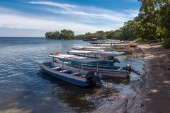 Plaża Krajowy zachodu park w Bali Fotografia Royalty Free