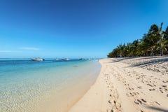 Plaża Le Morne Mauritius Zdjęcia Stock