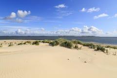 Plaża na Amrum, Niemcy Obraz Stock