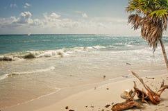 Plaża na Atlantyckim oceanie Obraz Royalty Free