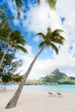 Plaża na Bor Borach Zdjęcie Royalty Free