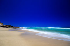 Plaża na Fuerteventura Fotografia Royalty Free