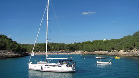 Plaża na Majorca Obrazy Royalty Free