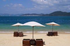Plaża na wyspie Zdjęcia Royalty Free