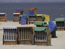 Plaża Nessmersiel zdjęcie royalty free