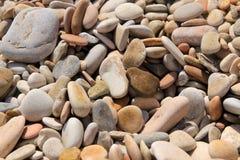 Plaża otoczaki Obraz Royalty Free