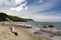 plażowa bela Fotografia Stock