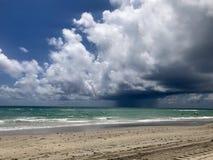 Plażowa burza Obraz Royalty Free