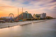 Plażowa Daytona Linia horyzontu Obraz Royalty Free