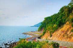 Plażowa droga w Tajlandia Zdjęcie Royalty Free