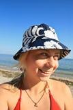 plażowa dziewczyna Zdjęcia Stock
