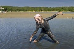 plażowa dziewczyna Fotografia Royalty Free