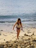 plażowa dziewczyna Zdjęcie Royalty Free