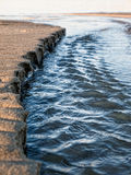 Plażowa erozja Zdjęcie Royalty Free