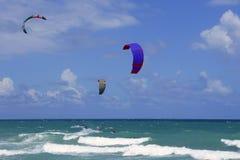 plażowa Florida kani Miami sportów kipieli woda Fotografia Stock