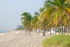 plażowa Florydy otoczenia Zdjęcia Royalty Free